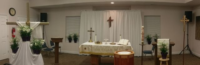 Easter Altar Panoramic